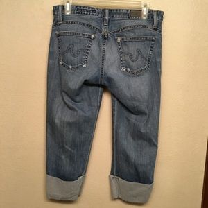 AG ADRIANO GOLDSCHMIED THE SHORTY CUFFED JEAN